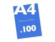 100 A4 Leaflets