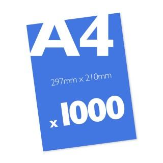 1000 A4 Leaflets