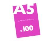 100 A5 Flyers