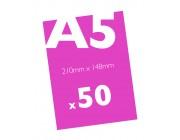 50 A5 Flyers