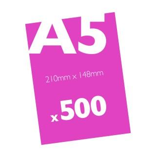 500 A5 Flyers