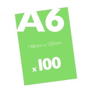 100 A6 Flyers