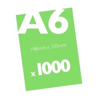 1000 A6 Flyers