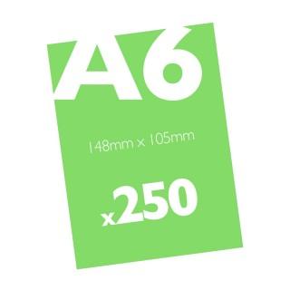 250 A6 Flyers