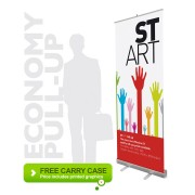 Pull Up Banner Stand  (Economy)
