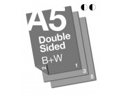 A5 B+W Document:2 Sided