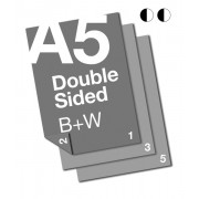A5 B+W Document: 2 Sided