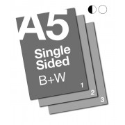 A5 B+W Document: 1 Sided