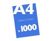 1000 x A4 Colour Leaflets