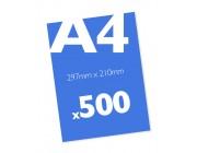 500 x A4 Colour Leaflets