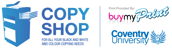 Coventry University Student Copy Shop